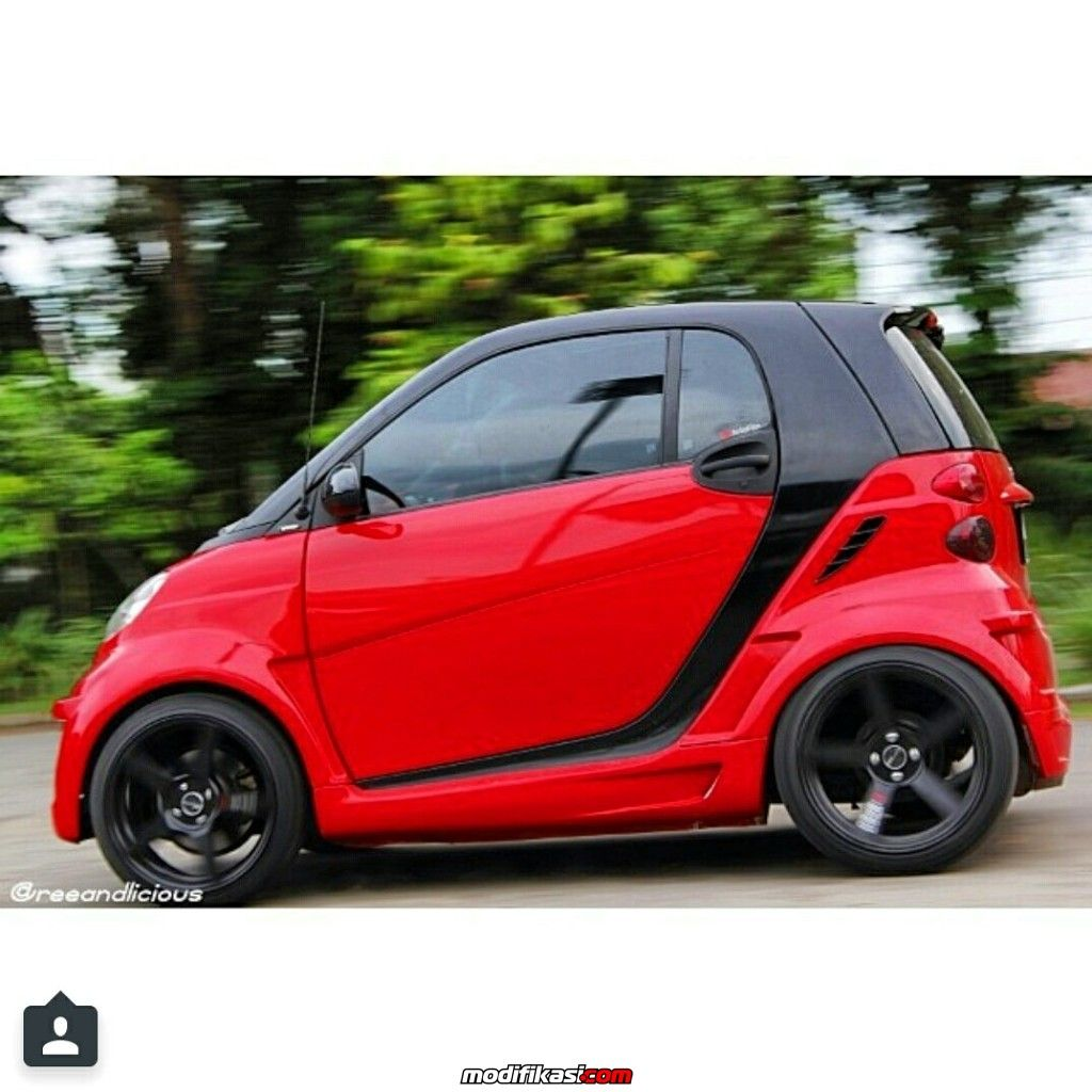 Smart for two 451 passion coupe widebody