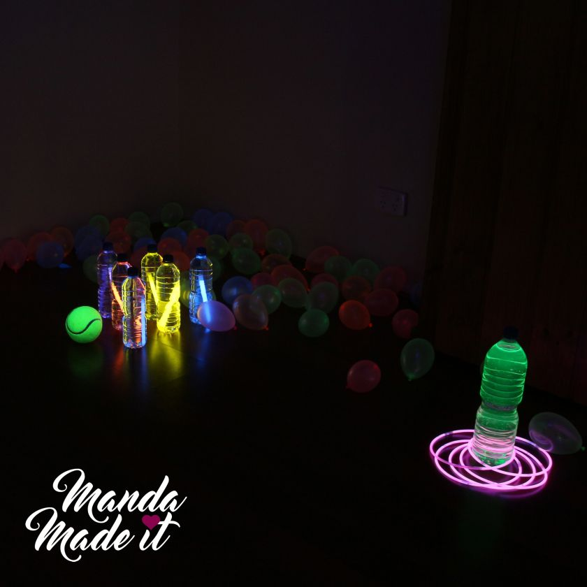 Glow Party, Balloon Decorations Party