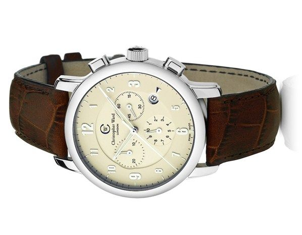 Christopher Ward Watch Company - Malvern Chronograph. Inspired by the dashboard dials of a vintage Aston Martin