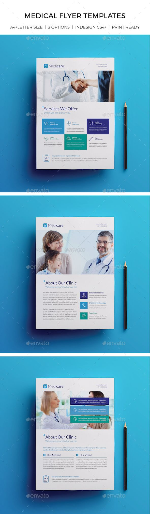 Medical Flyer Templates Dental Hospital Flyer Template And Clinic