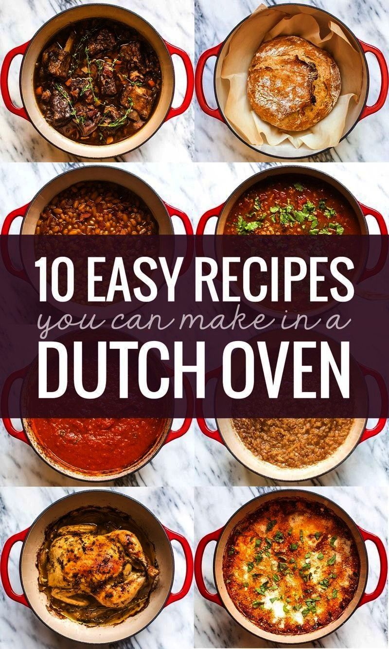 Recipes You Can Make in a Dutch Oven -10 Easy Recipes You Can Make in a Dutch Oven -  Turn leftover