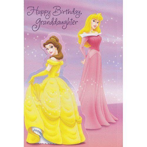 happy birthday granddaughter – Happy Birthday Princess Card