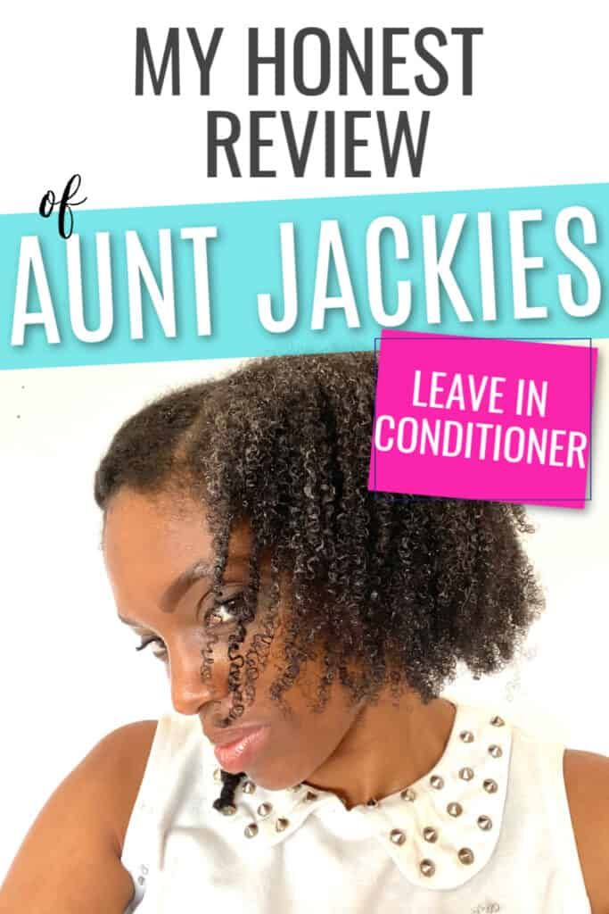 Find out how I felt about the Aunt Jackies Quench leave in conditioner. You'll see exactly how it I found it in my natural hair. #naturalhair #curlyhair #hairtips #haircare #hairproductreview.