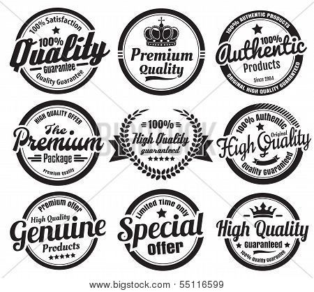 Premium High Quality Guarantee Badges (With images