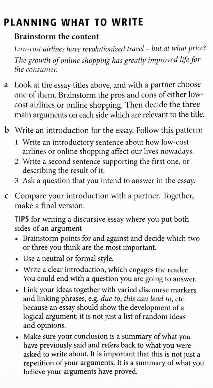 Narrative Essay Example High School New English File Advanced Students Book Oxford Page Planning What To  Write Brainstorm The Personal Essay Thesis Statement also Wonder Of Science Essay New English File Advanced Students Book Oxford Page Planning  Essays About English Language