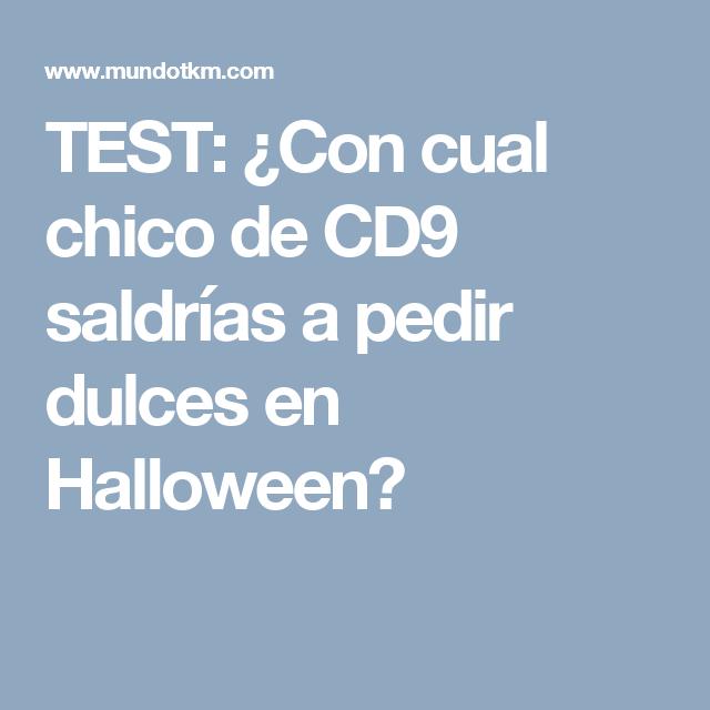 TEST: ¿Con cual chico de CD9 saldrías a pedir dulces en Halloween?