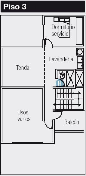 Plano de 120 m2 para casa de 8x15 metros planos de casas for Planos de casas 8x15