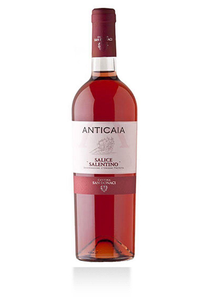Anticaia Salice Salentino Rosato Dop Cantina San Donaci Salentowineshop Vino Rosato Vino Italiano Vinificazione