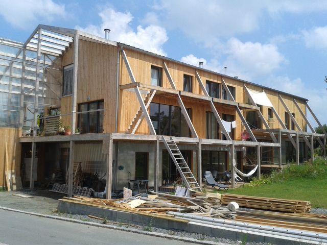 Maison bioclimatique en Bretagne Riguidel Architectes Architecture