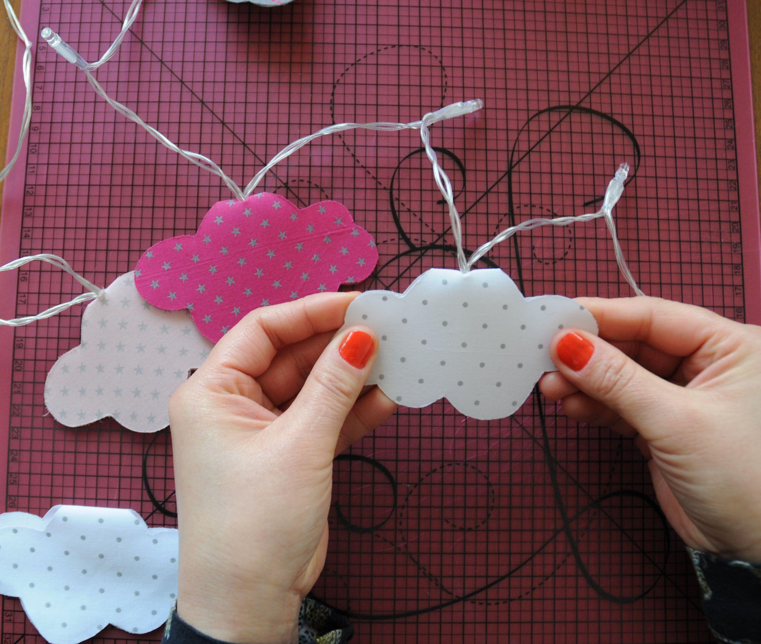 jolie guirlande lumineuse guirlandes pinterest diy origami and bricolage. Black Bedroom Furniture Sets. Home Design Ideas