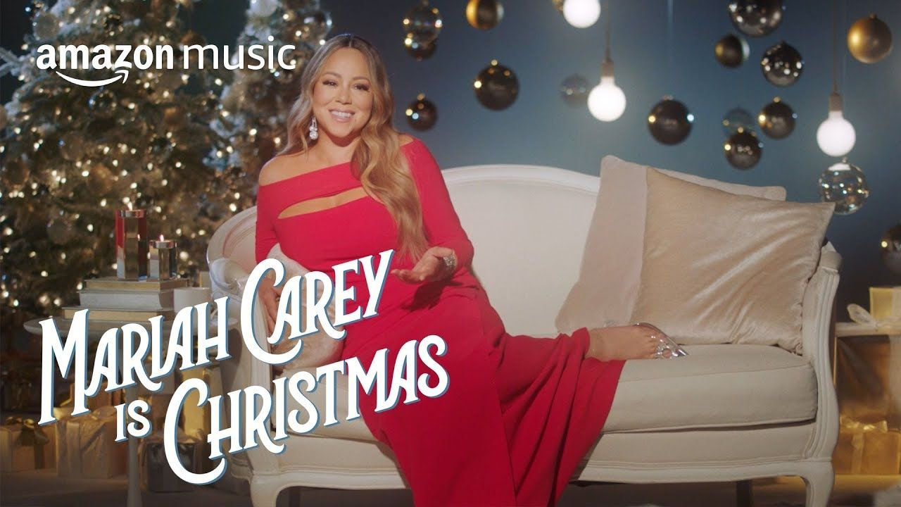 Mariah Carey Is Christmas The Story Of All I Want For Christmas Is You Amazon Music Youtube In 2020 Mariah Carey Mariah Carey Songs Carey