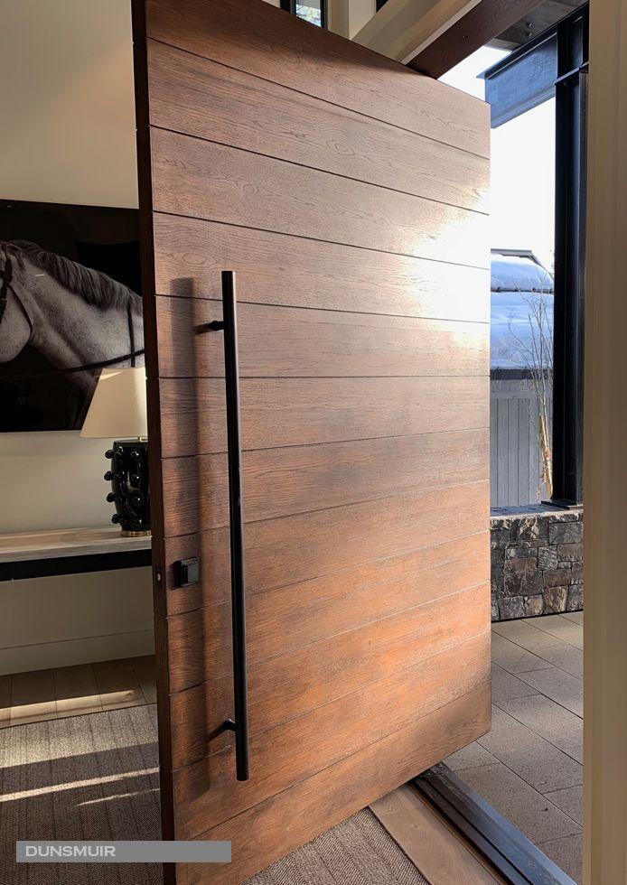 All Wood Pivot Doors Red Horse Custom Pivot Doors Modern Entrance Door Modern Exterior Doors Door Design Modern