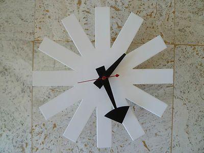 Wonderful George Nelson Asterisk Clock By Howard Miller