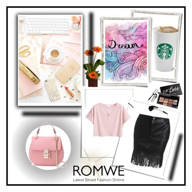 """Romwe 2"" by amelaa-16 ❤ liked on Polyvore featuring Bobbi Brown Cosmetics and romwe"