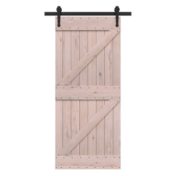 Diy Portland Sliding Barn Door Kit Rustic Sliding Doors Barn