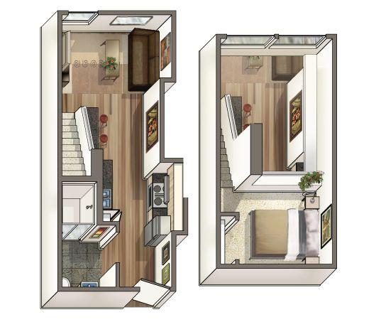 Apartments Cheap: Olympic Studio Loft Apartments; Affordable Loft Apartments