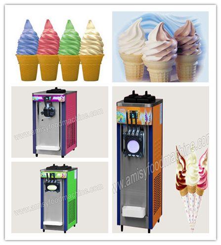 Countertop Soft Ice Cream Machine Low Cost High Profit Ice