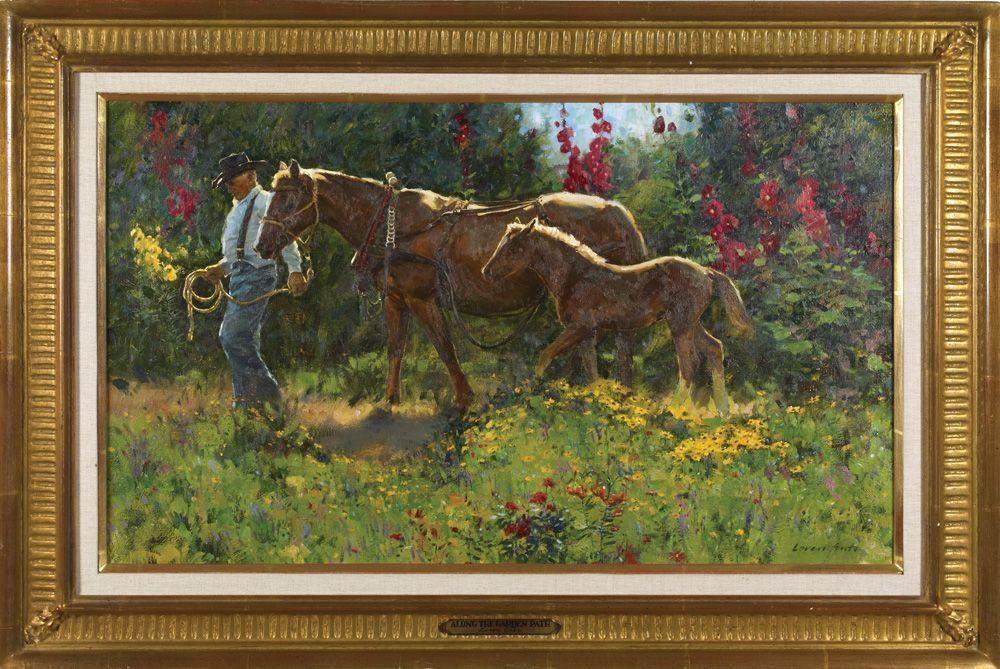 Loren Entz Western artist, Art, Painting