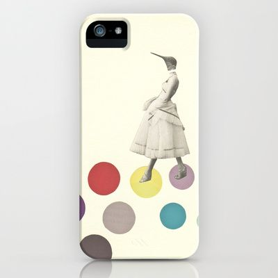 Bird Lady iPhone Case by Cassia Beck - $35.00