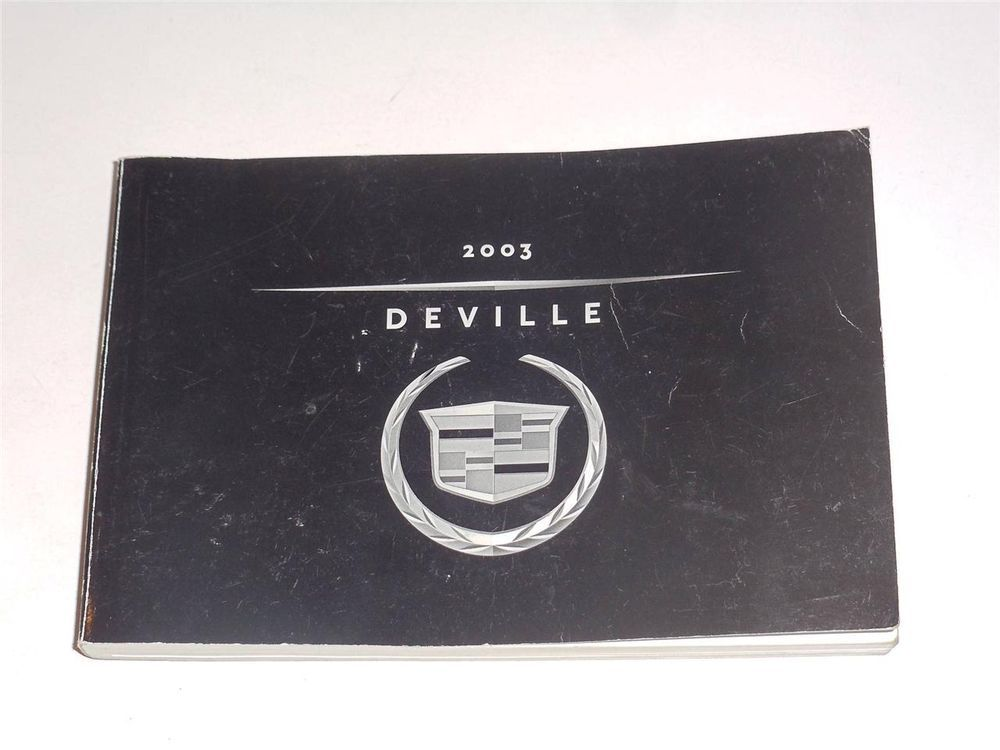 2003 cadillac deville owners manual book owners manuals pinterest rh pinterest com 2000 cadillac deville owners manual on ebay 2000 cadillac deville owners manual pdf