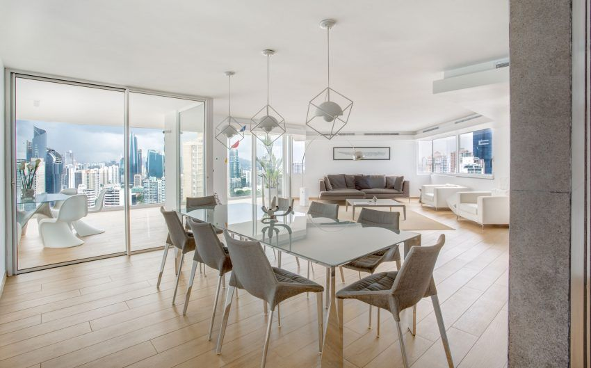 Dos G Arquitectos Renovate A 30Yearold Apartment In Panama City Fair Panama Dining Room Review