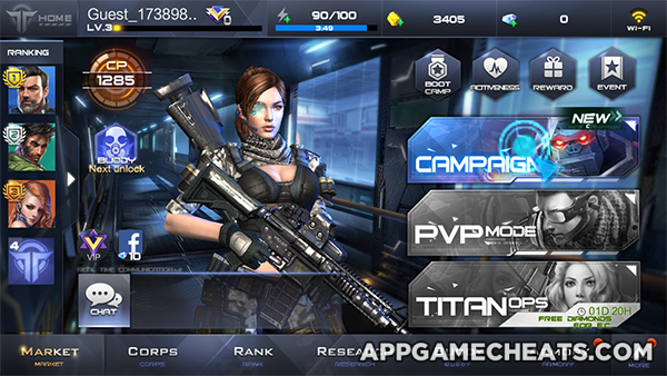 Fusion War Hack & Cheats for Gold, Diamonds, R&D & Energy