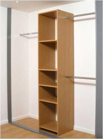 Dans le bureau faire une armoire pis mettre la barre - Mettre des portes coulissantes ...
