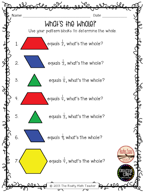 Thursday Tool School Critical Thinking With Pattern Blocks Math
