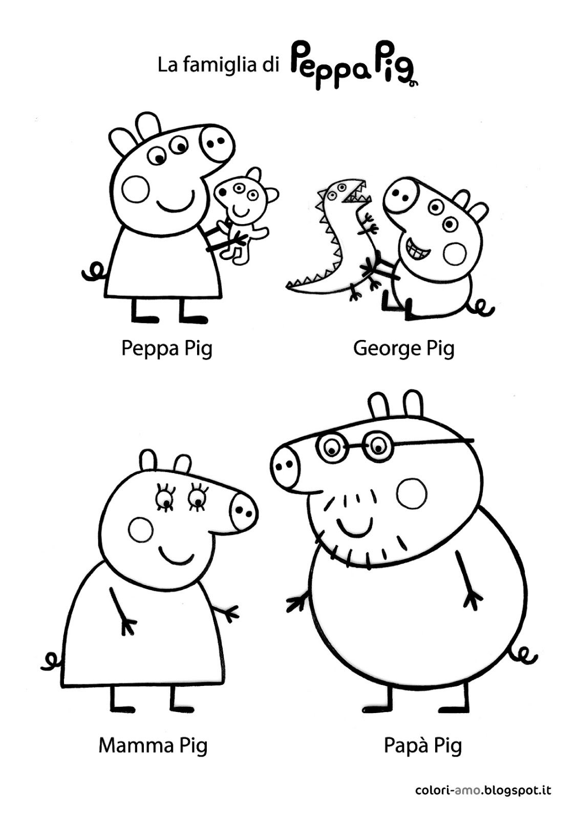 Best Peppa Pig And Friends Coloring Pages Jpg 1131 1600 Peppa Pig Coloring Pages Peppa Pig Colouring Peppa Pig Drawing