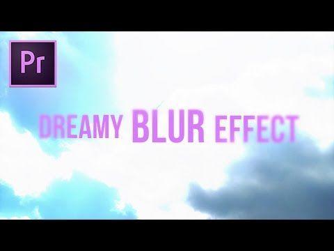 GLOWING Dodge & Blur Transition Effect (Adobe Premiere Pro CC 2017