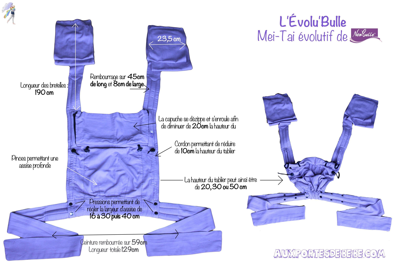 L Evolu Bulle   le mei-tai évolutif de la marque française Néobulle ... 88441351676