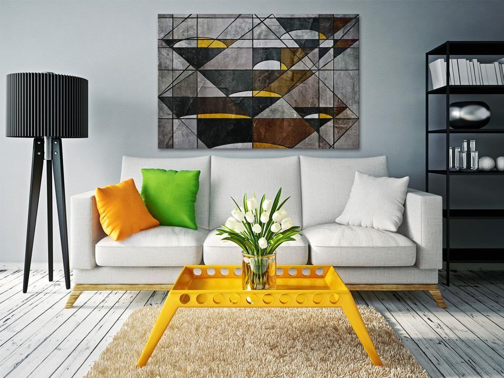 16401 Obraz Na Plotnie Abstrakcja Szara 120x80 5629782997 Oficjalne Archiwum Allegro Cozy Living Rooms Home Decor Home