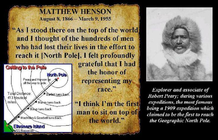 Matthew Henson Quotes