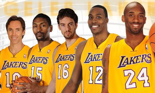 La Lakers 2012 2013 Roster Lakers Lakers Win Nba Schedule