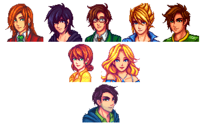 Since Many People Have Expressed A Dislike For The Vanilla Portraits Here Is A Mod That Aims To Replace Them Stardew Valley Stardew Valley Fanart Valley Girls