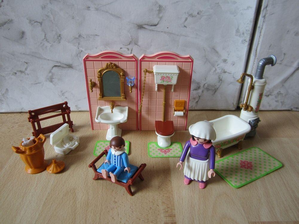 Playmobil Ref 5324 Maison Victorienne Toilette Salle De Bains