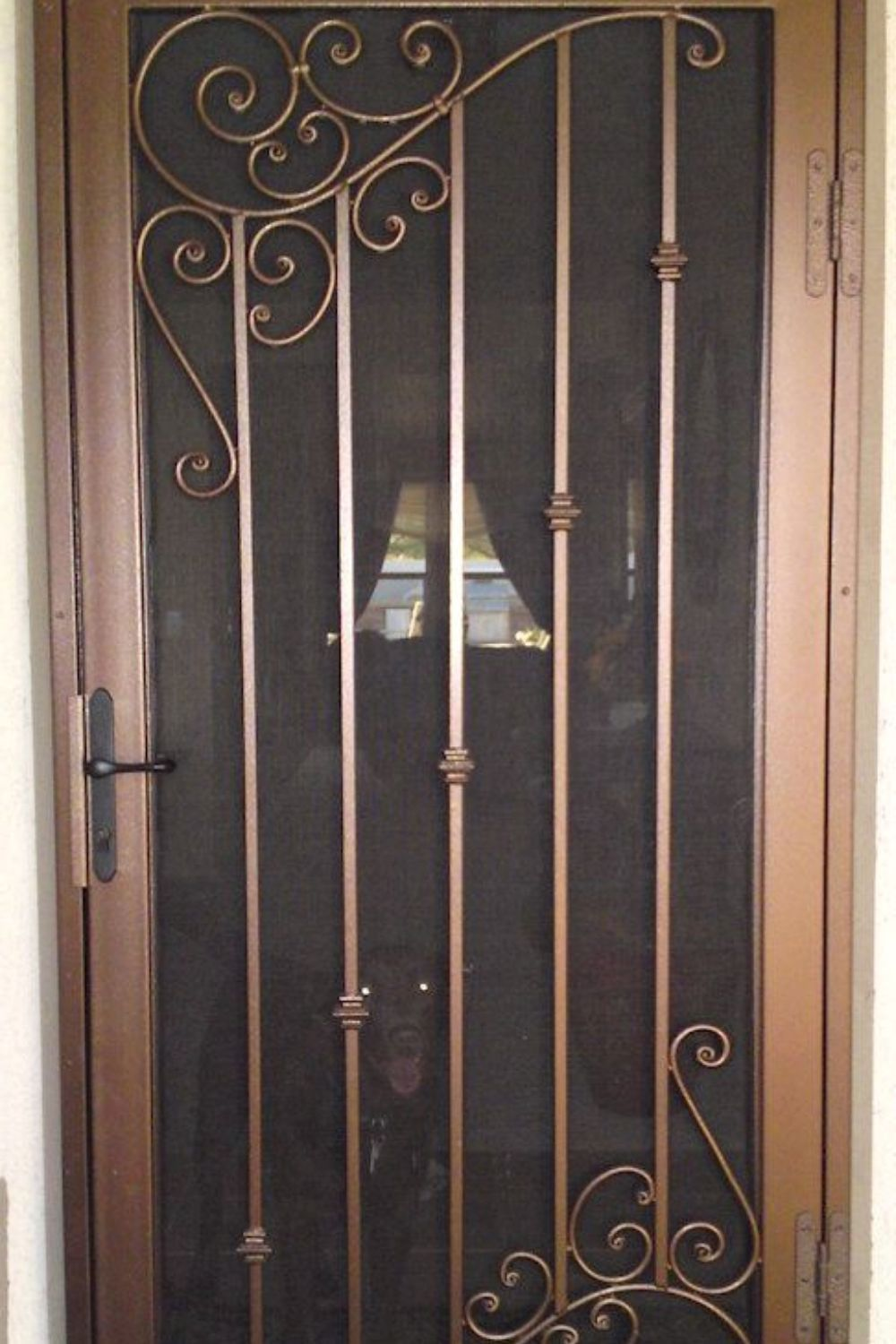Modern Iron Doors Ideas To Make Your Entrance Look Beautiful With