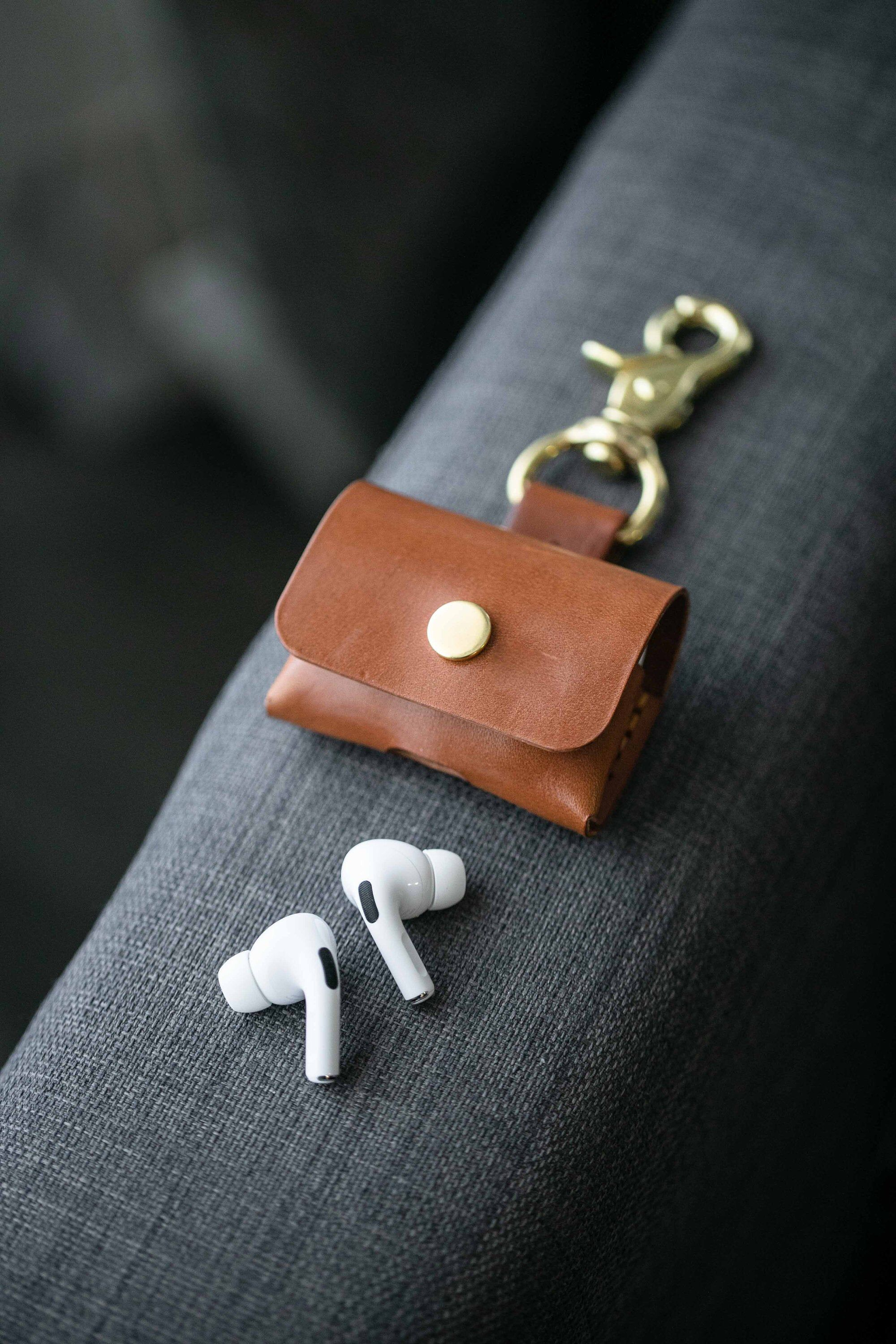 Airpod Pro Case For Apple Airpods Pro Airpods Pro Leather Etsy In 2020 Airpod Pro Airpods Pro Leather Case