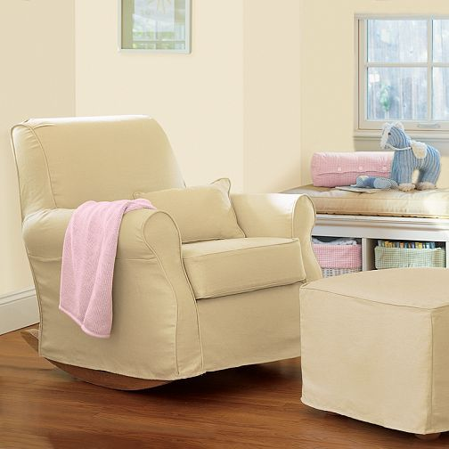 Pottery Barn Lullaby Rocker Slipcover Furniture Comfy Rocking