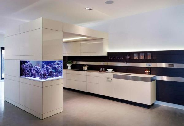 La d coration avec un meuble aquarium kitchen - Meuble aquarium design ...