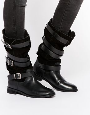Buy Women Shoes / Asos Candid Suede Knee High Boots