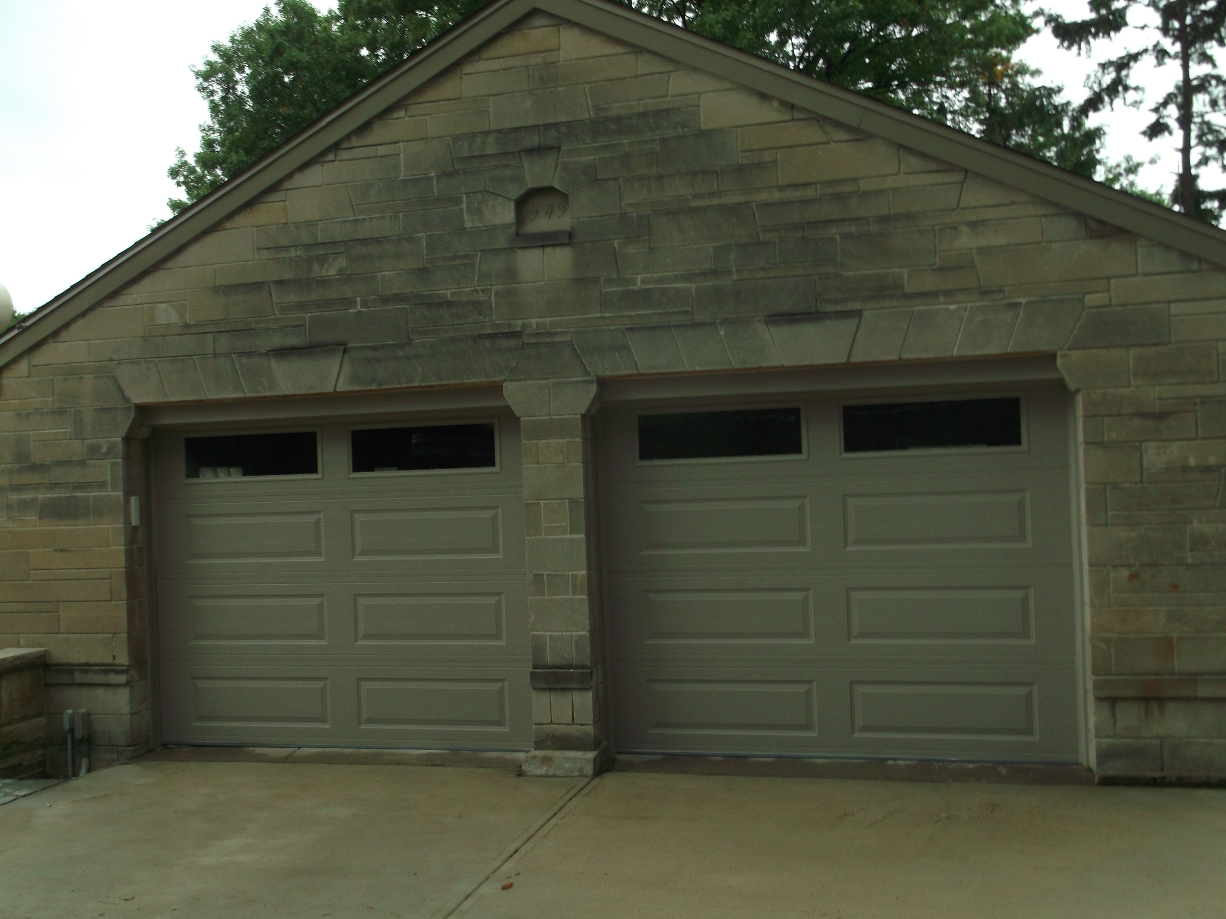 Amarr Stratford 3000 Garage Doors Installed By Thomas V Giel Garage