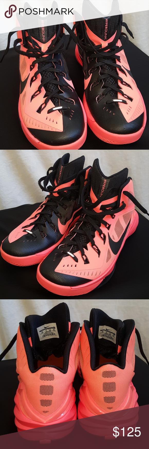 604ac385e70d Nike Hyperdunk 2014  Men s 10  Bright Mango Black VERY lightly used ...