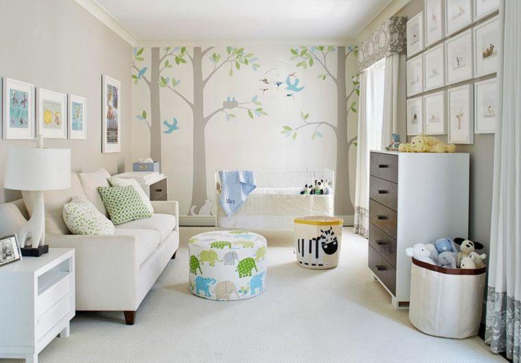 Stickers chambre bébé fille pour une déco murale originale | Nursery