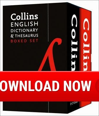 Collins English Dictionary and Thesaurus Boxed Set Download
