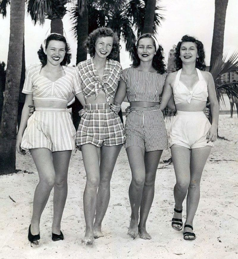 Q's Daydream: Inspiration Friday, Summertime the 1940's Way