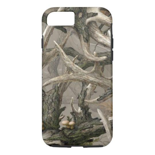 Backwoods deer skull camo CaseMate iPhone case Zazzle