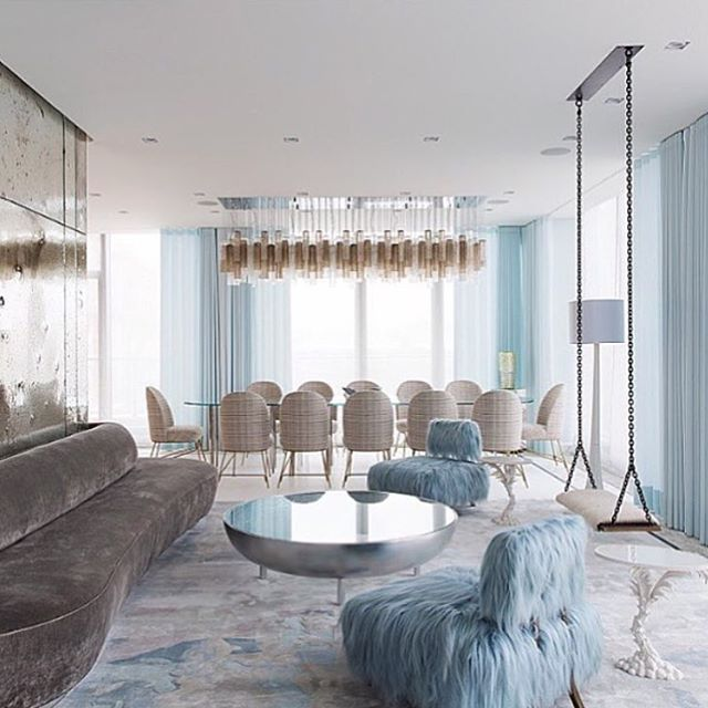 Terrific Baby Blue Love Via Ashleytstark Interior Interiors Interior Design Ideas Clesiryabchikinfo