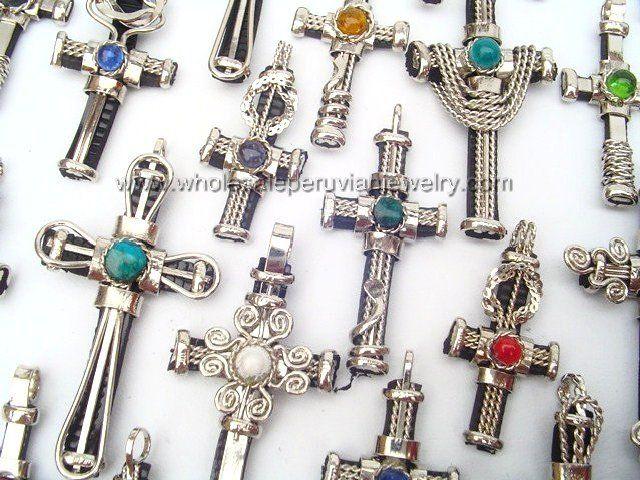 Assorted Cross Pendantshttp://www.wholesaleperuvianjewelry.com