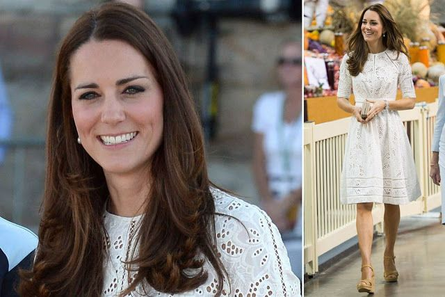 Catherine, Duchess of Cambridge tour Australia/New Zealand - Day-12 on April 18, 2014 in Sydney, Australia. Kate Chose to wear Zimmerman for the Royal Easter Show